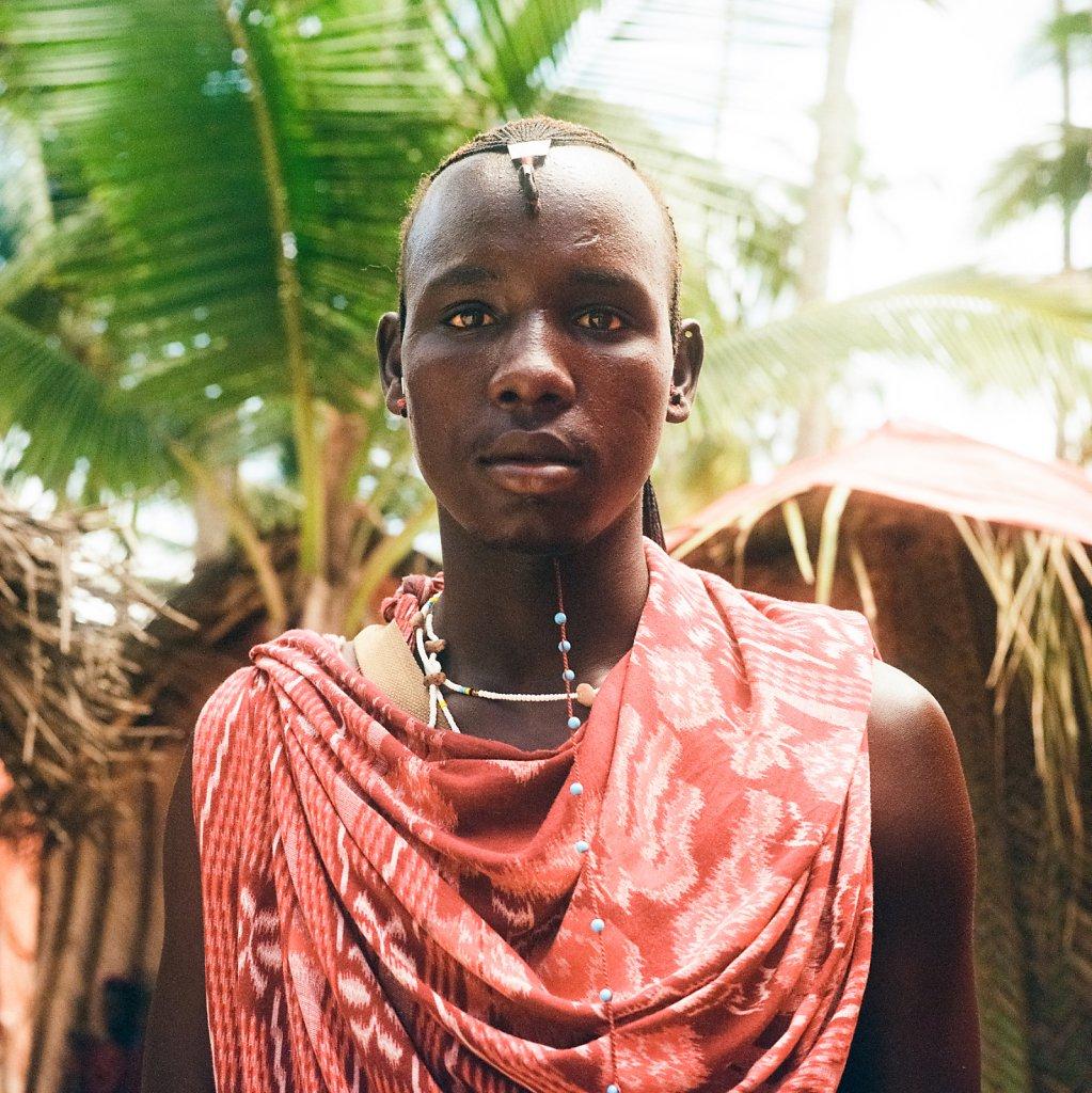 Plastic Maasai.